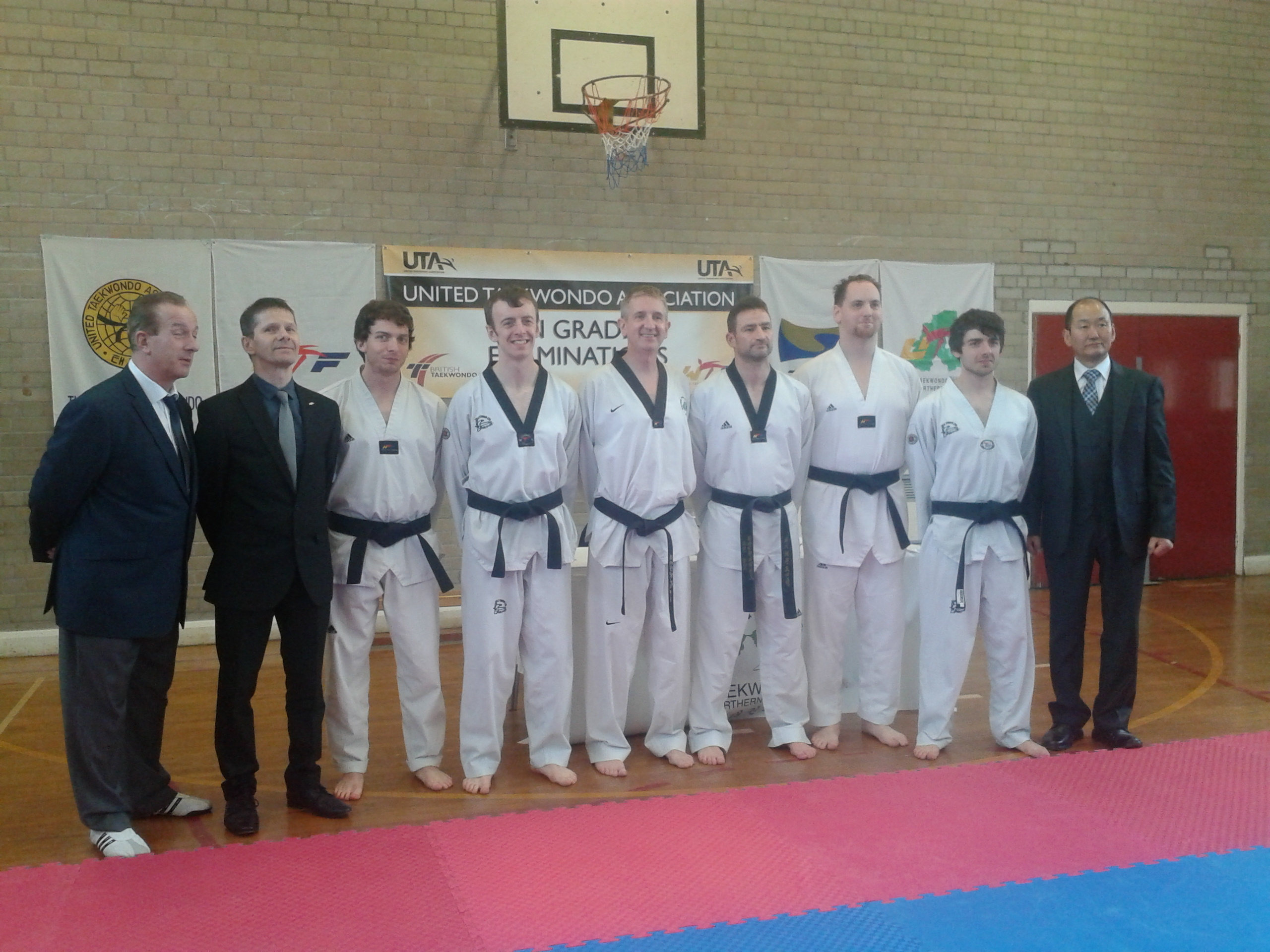 Northern Ireland Grading Candidates with Grading Panel
